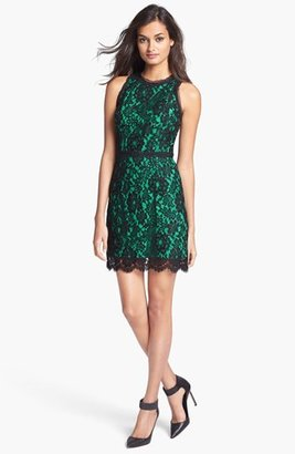 Milly Sleeveless Lace Dress