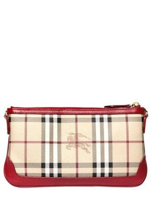 Burberry Peyton Haymarket Shoulder Bag