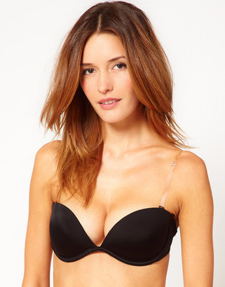 Fashion Forms Clear Back Strapless Bra