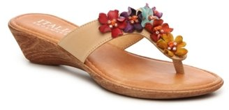 Italian Shoemakers Giggle Wedge Sandal $59 thestylecure.com