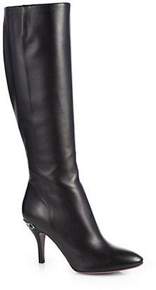 Gucci Elizabeth Leather Boots