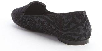 Pour La Victoire black suede 'Zada' loafers