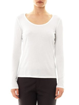 Max Mara Weekend by Scoop-neck T-shirt