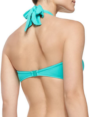 Seafolly Goddess Twisted Bandeau Top, Seychelles