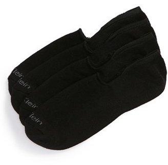 Men's Calvin Klein 2-Pack Performance No-Show Socks $15 thestylecure.com