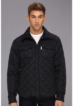 Ecko Unlimited Quilt It L/S Woven Shirt Jacket (True Navy) - Apparel
