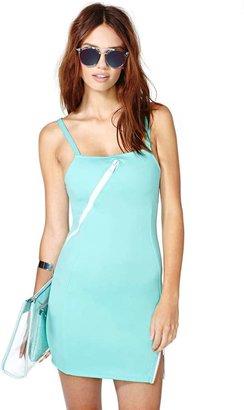 Nasty Gal So Fresh Zip Dress