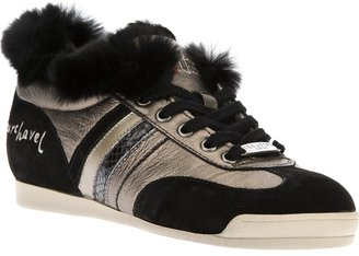 Serafini lace-up trainer