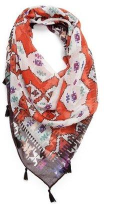 MANGO TOUCH - Tasselled ethnic scarf
