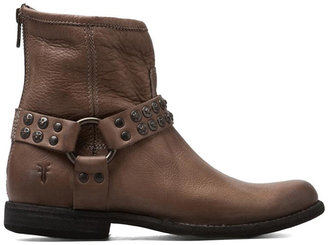 Frye Philip Studded Harness Bootie