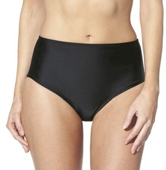 Sara Blakely ASSETS® by Women's Full Coverage Swim Bottom -Black