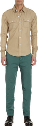 Band Of Outsiders Chest Pocket Work Shirt