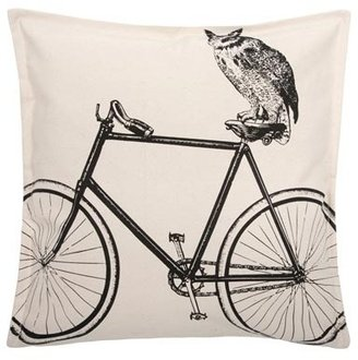 Thomas Paul Luddite Owl Bike 18 Pillow