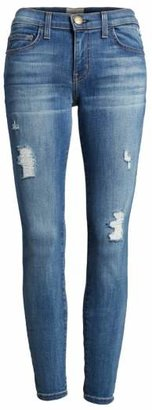 Women's Current/elliott 'The Stiletto' Destroyed Skinny Jeans