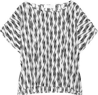 Thakoon Printed woven top