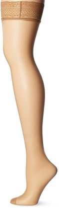 Dim Women's UP VOILE BAS Hold-up Stockings 15 DEN