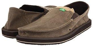 Sanuk Pick Pocket (Charcoal) Men's Slip on Shoes