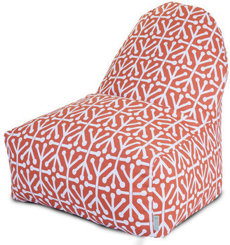 Majestic Home Kick-It Chair Orange Aruba