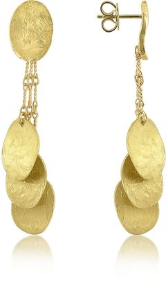 Torrini Nuvole Moving - 18K Gold Drop Earrings