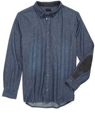 Paul Smith 'Enock' Denim Shirt (Toddler Boys)