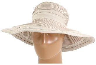 San Diego Hat Company RBL4776 Crushable Ribbon Floppy Sun Hat (Khaki) - Hats