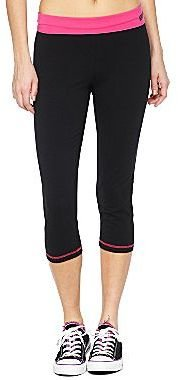 JCPenney Contrast Band Capris