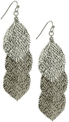Forever 21 Dangle Leaves Earrings
