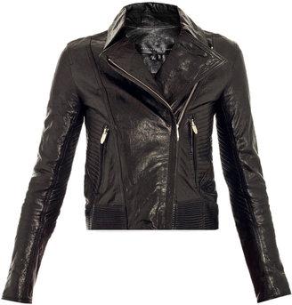 Theyskens' Theory Javda leather biker-jacket