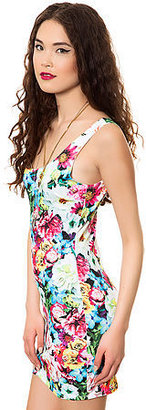Style Hunter The Spring Bouquet Mini Dress in Multi