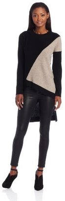 Robert Rodriguez Women's Asymmetrical Cashmere Blend Pullover Sweater