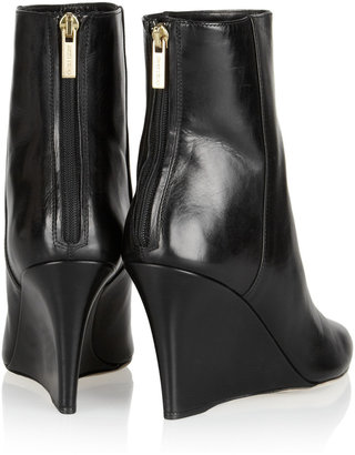 Jimmy Choo Mayor leather ankle boots