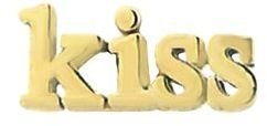 Jennifer Meyer KISS Stud - Yellow Gold