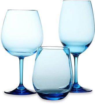 Bed Bath & Beyond Cool Blue Wine Glasses (Set of 4)