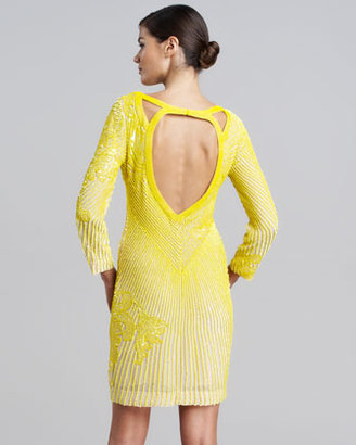 Roberto Cavalli Allover Beaded Dress