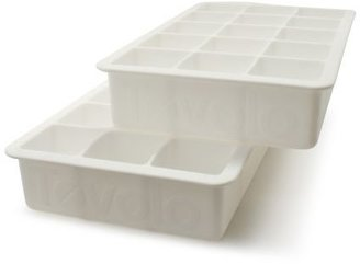 Tovolo Perfect Cube Ice Trays, Set of 2