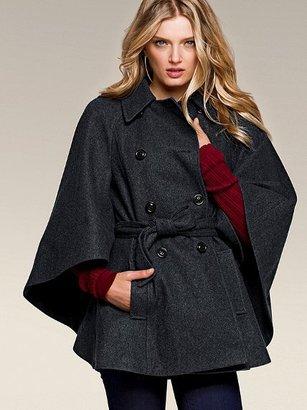 Victoria's Secret Belted Cape Coat