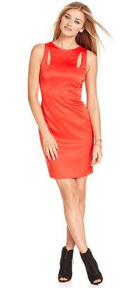 Rachel Roy Dress, Sleeveless High-Neck Cutout Shift