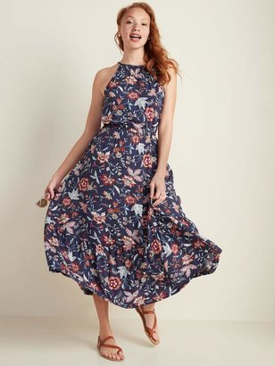 Old Navy Waist-Defined Braided-Strap Maxi Sundress for Women