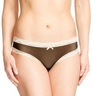 Gilligan & O'Malley Women's Mesh Lace Trim Hipster Panty