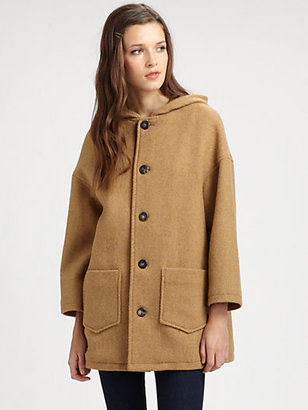 A.P.C. Oversized Hooded Coat