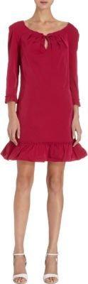 Nina Ricci A-Line Flounce Dress