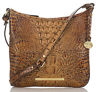 BRAHMIN Brahmin Toasted Almond Collection Jody Croco-Embossed Cross-Body Bag $185 thestylecure.com