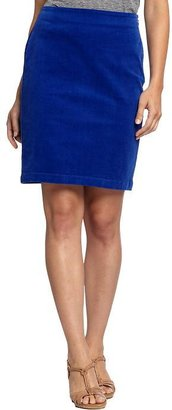Old Navy Women's Perfect-Cord Pencil Skirts