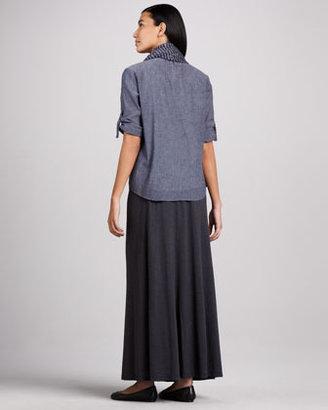 Eileen Fisher Maxi Flutter Skirt