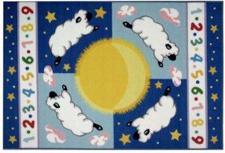 Fun Rugs Fun RugsTM Olive KidsTM Sleepy Sheep Rug - 19'' x 29''