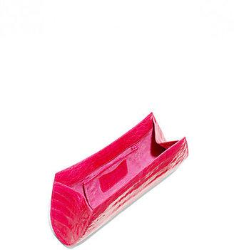 Nancy Gonzalez Crocodile Curve Razor Clutch
