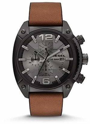 Diesel Men's DZ4317 Overflow Analog Display Quartz Movement Watch