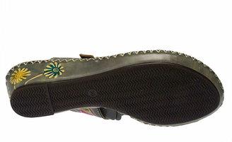 Women's Santorini Wedge Sandal -Grey