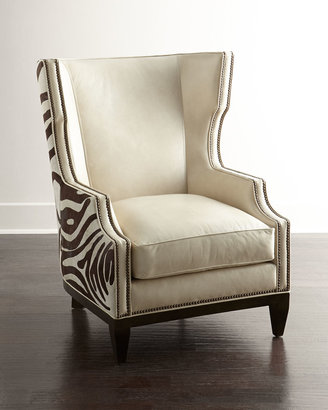 Massoud Borra Hairhide Chair