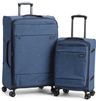 2pc Expandable Luggage Set